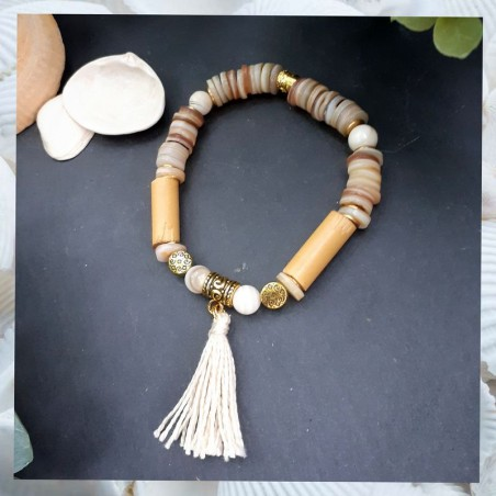 Bracelet Ethnique Nacre
