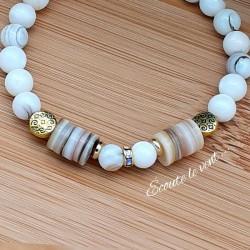 Bracelet nacre