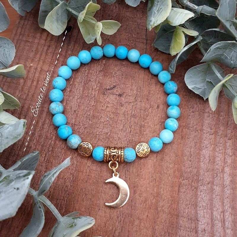 Bracelet Turquoise, Tortue