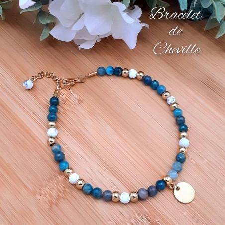 Bracelet de Cheville Apatite