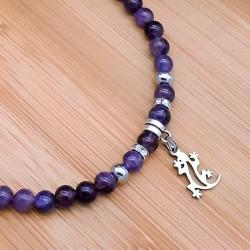 Bracelet de Cheville Améthyste