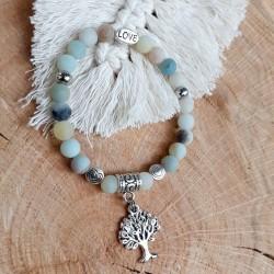 Bracelet amazonite arbre de...