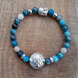 Bracelet apatite symbole de longévité