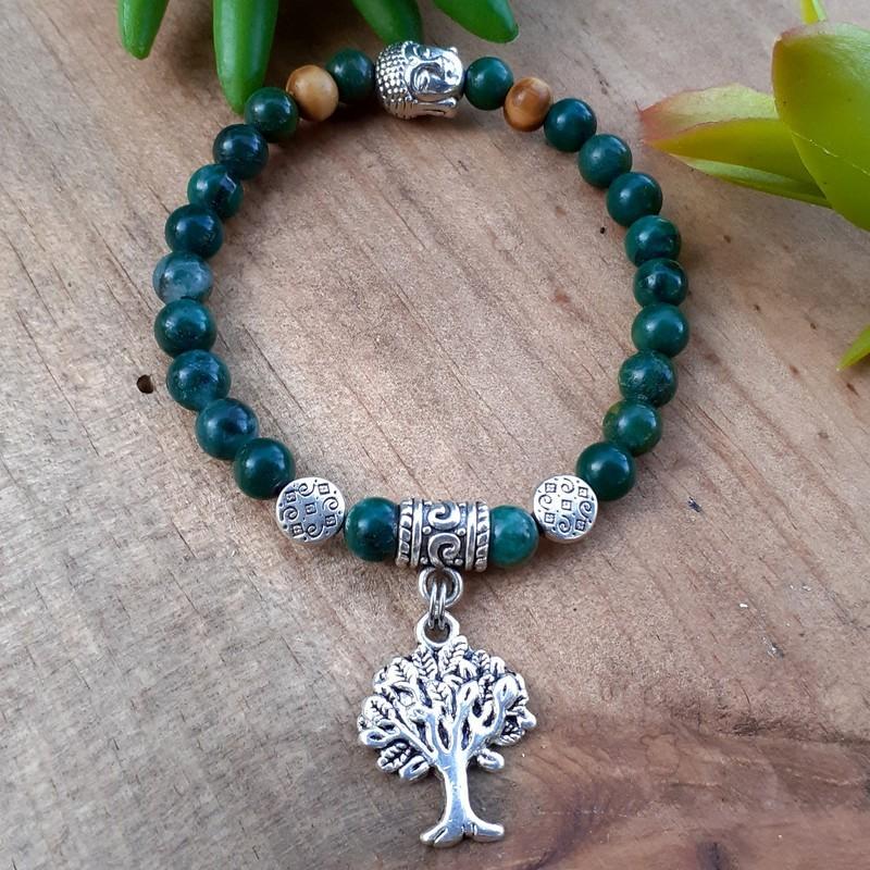 Bracelet turquoise Africaine arbre de vie