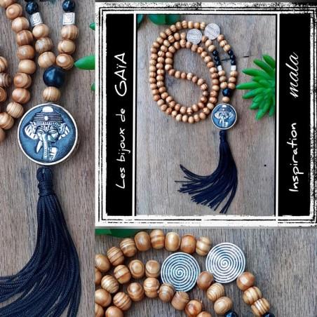 Sautoir pendant perle indonésienne