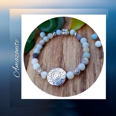 Bracelet amazonite Soleil