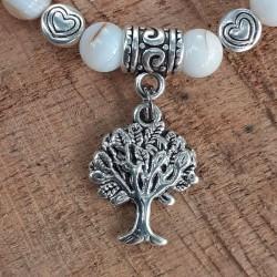 Bracelet nacre arbre de vie