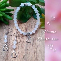 Ensemble Quartz rose, Coeur
