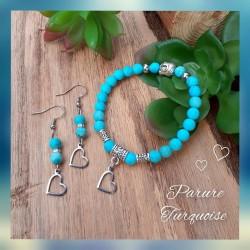 Ensemble Turquoise, Coeur