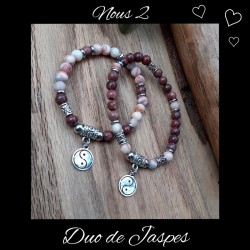 Ensemble bracelets duo de...
