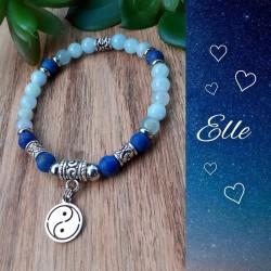 Bracelet Aigue-marine &...
