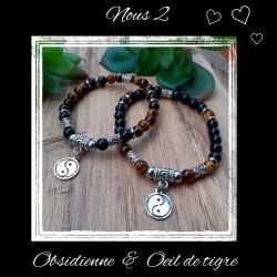 Ensemble bracelets Oeil de...
