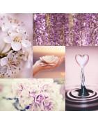 Colliers artisanaux, fait main, en quartz rose